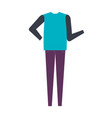 casual and youth female clothing vector image