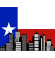 City and flag of texas vector | Price: 1 Credit (USD $1)