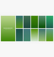 fresh green eco gradients background vector image