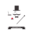 Gentleman abstract logo