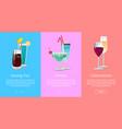 Having fun parties celebration web banner cocktail