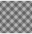 seamless black and white circle pattern background vector image vector image