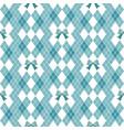 seamless hand drawn pattern with bows ribbon vector image vector image