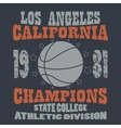 Basketball Champions t-shirt vector image