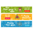 colorful sale cards last chance buy now best price vector image