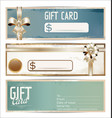 gift card grunge collection vector image vector image