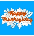 Happy Thanksgiving Day 7 vector image vector image