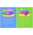 hot summer sale discount off set posters online vector image vector image
