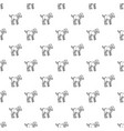 lamb pattern seamless vector image