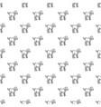 lamb pattern seamless vector image