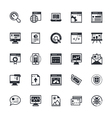 SEO and Marketing Colored Icons 1 vector image vector image