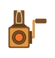 videocamera icon Retro Technology design vector image vector image