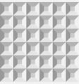 3d plastic comol pyramids seamless pattern vector image vector image