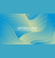 abstract gradient liquid concept background vector image vector image
