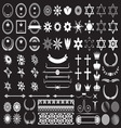Big set of design elements resize vector image vector image