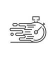 fast service icon vector image