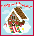 Holiday Home vector image vector image