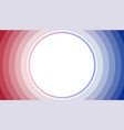 red blue stack circle abstract background vector image vector image