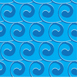 seamless light blue background with blue swirls vector image vector image