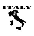 symbol of italy and maps vector image