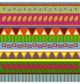 Tribal abstract pattern vector image vector image