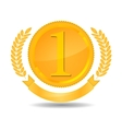 number one award vector image