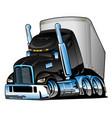 semi truck with trailer cartoon