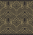 abstract art deco seamless pattern 26 vector image vector image