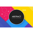 abstract material design color background with a vector image vector image