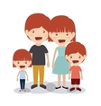 best family design vector image vector image