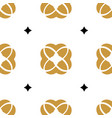 seamless simple luxury or royal pattern with gold vector image