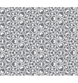 Abstract grey seamless hand-drawn pattern vector image vector image