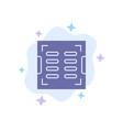 bathroom construction drain drainage blue icon on vector image