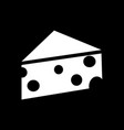 cheese icon design vector image