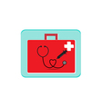 first aid box icon vector image vector image