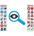 Investigate Icon vector image vector image
