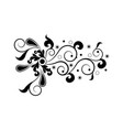 isolated arabesque vintage pattern vector image vector image