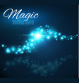 magic space fairy dust infinity abstract vector image vector image