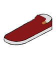 moccasins shoes isolated icon vector image vector image