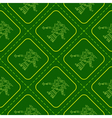 Seamless pattern with symbols from Aztec codices vector image vector image