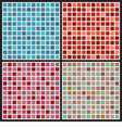 Set Of Mosaic Background vector image vector image