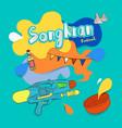 Songkran thai festival water party