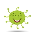 virus character design vector image vector image