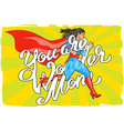 you are wonder 01 vector image