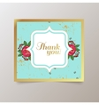 watercolor colorful floral with summer vector image