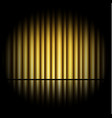 curtain of golden background vector image vector image