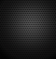 Dark metal cell background vector image vector image