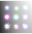 Light effect stars bursts EPS 10 vector image vector image