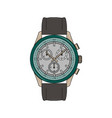 mens watch vector image