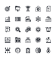 SEO and Marketing Colored Icons 6 vector image vector image